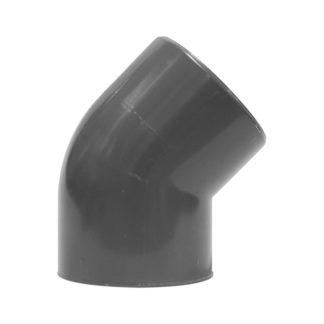 PVC Bocht 45° 16 bar
