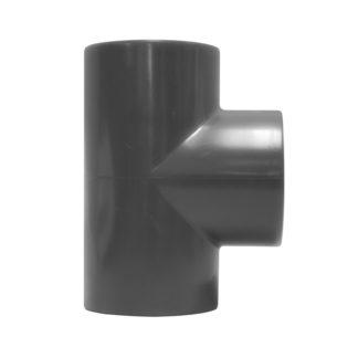 PVC T-stuk 90° 16 bar