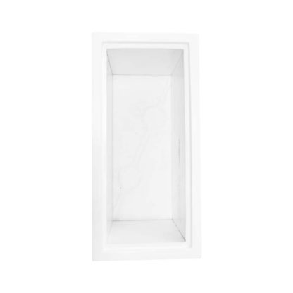Bloempot 75x36x36 polyester Wit bovenaanzicht