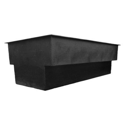 Vijver inbouw 420x195x130 polyester