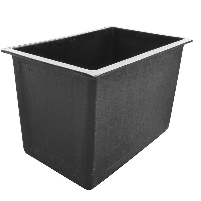 vijver 120 x 80 x 80 bovengronds. Black Bedroom Furniture Sets. Home Design Ideas